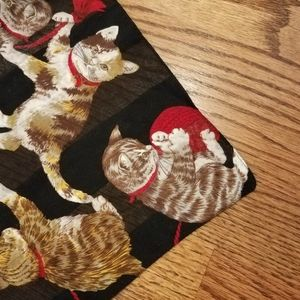 Vintage // Cat Scarf